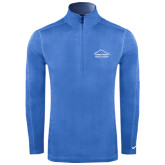 Nike Sphere Dry 1/4 Zip Light Blue Cover Up-Physical Therapy