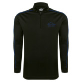 Nike Golf Dri Fit 1/2 Zip Black/Royal Cover Up-Physical Therapy