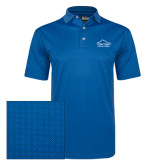 Callaway Magnetic Blue Jacquard Polo-Physical Therapy