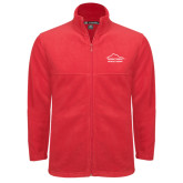 Fleece Full Zip Red Jacket-Physical Therapy