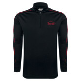 Nike Golf Dri Fit 1/2 Zip Black/Red Cover Up-Physical Therapy