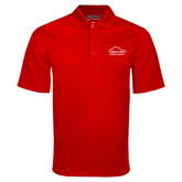 Red Mini Stripe Polo-Physical Therapy