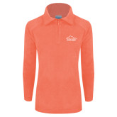 Columbia Ladies Half Zip Coral Fleece Jacket-Physical Therapy