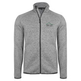 Grey Heather Fleece Jacket-Physical Therapy