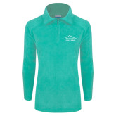 Columbia Ladies Half Zip Seaglass Fleece Jacket-Physical Therapy