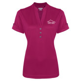 Ladies Ogio Deep Berry Fashion Henley-Physical Therapy