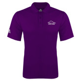 Adidas Climalite Purple Game Time Polo-Physical Therapy