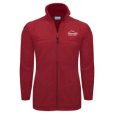 Columbia Full Zip Cardinal Fleece Jacket-Physical Therapy