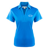 Ladies Light Blue Performance Fine Jacquard Polo-Physical Therapy