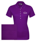 Ladies Callaway Opti Vent Purple Polo-Physical Therapy