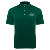 Dark Green Dry Mesh Polo-Physical Therapy