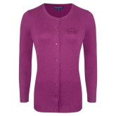 Ladies Deep Berry Cardigan-Physical Therapy