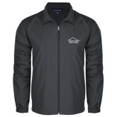 Full Zip Charcoal Wind Jacket-Physical Therapy