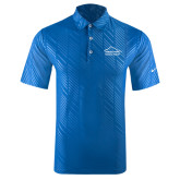 Nike Dri Fit Royal Embossed Polo-Physical Therapy