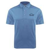 Light Blue Dry Mesh Polo-Physical Therapy
