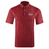 Nike Dri Fit Cardinal Embossed Polo-Physical Therapy