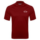Cardinal Textured Saddle Shoulder Polo-Physical Therapy