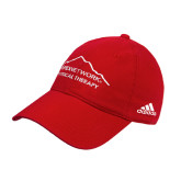 Adidas Red Slouch Unstructured Low Profile Hat-Physical Therapy