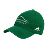 Adidas Kelly Green Slouch Unstructured Low Profile Hat-Fitness Center