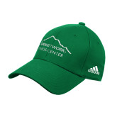 Adidas Kelly Green Structured Adjustable Hat-Fitness Center