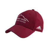Adidas Cardinal Structured Adjustable Hat-Fitness Center