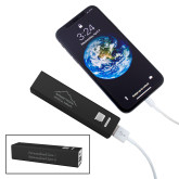 Aluminum Black Power Bank-Physical Therapy Engraved