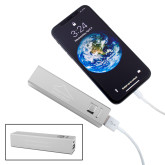Aluminum Silver Power Bank-Physical Therapy Engraved