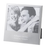 Silver 5 x 7 Photo Frame-Physical Therapy Wordmark Engraved