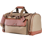 Cutter & Buck Brown Club Duffel-Physical Therapy Debossed
