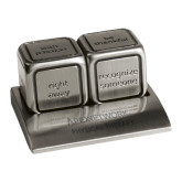 Icon Action Dice-Physical Therapy Wordmark Engraved