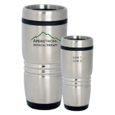 Rolling Ridges Silver Stainless Tumbler-Physical Therapy