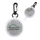Clear Round Flashing Reflector Light-Physical Therapy