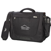 High Sierra Black Upload Business Compu Case-Physical Therapy