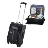 Wenger 4 Wheeled Spinner Black Carry On-Physical Therapy