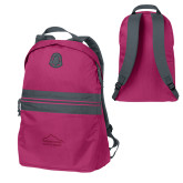 Pink Raspberry Nailhead Backpack-Physical Therapy