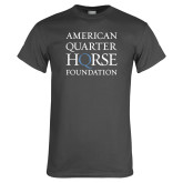 Charcoal T Shirt-American Quarter Horse Foundation