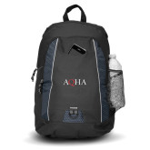 Impulse Black Backpack-AQHA