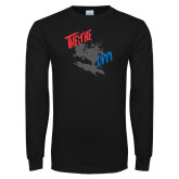 Black Long Sleeve T Shirt-Theyre Off
