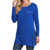 Ladies Royal Side Slit Tunic-AQHA