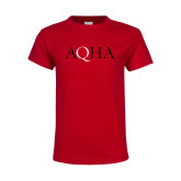 Youth Red T Shirt-AQHA