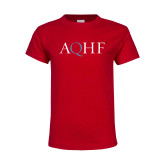 Youth Red T Shirt-AQHF