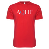 Next Level SoftStyle Red T Shirt-AQHF