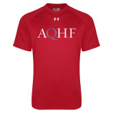 Under Armour Red Tech Tee-AQHF
