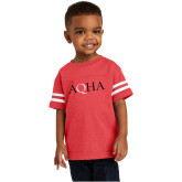 Toddler Vintage Red Jersey Tee-AQHA