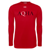 Under Armour Red Long Sleeve Tech Tee-AQHA