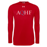 Under Armour Red Long Sleeve Tech Tee-AQHF
