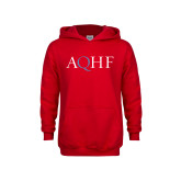 Youth Red Fleece Hoodie-AQHF