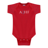 Red Infant Onesie-AQHF