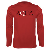 Performance Red Longsleeve Shirt-AQHA