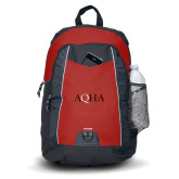 Impulse Red Backpack-AQHA